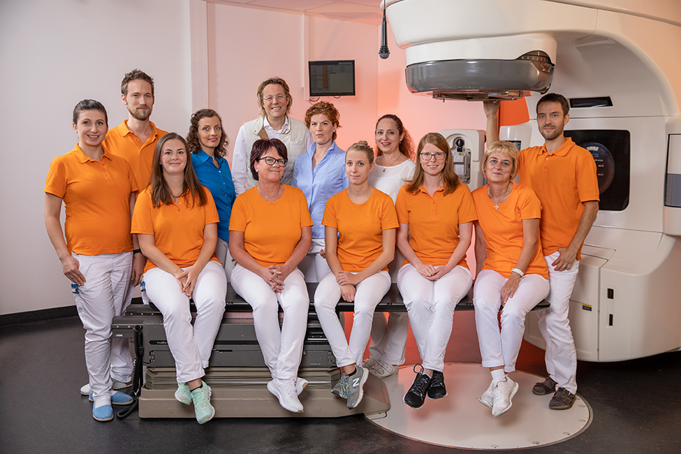 Teambild Strahlentherapie Ostalb